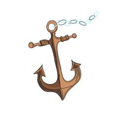 doodle anchor