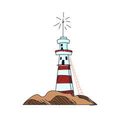 doodle lighthouse
