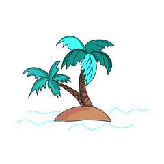 doodle palms