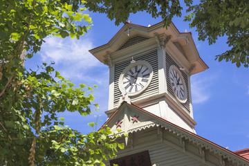 Fototapete - 札幌の時計台