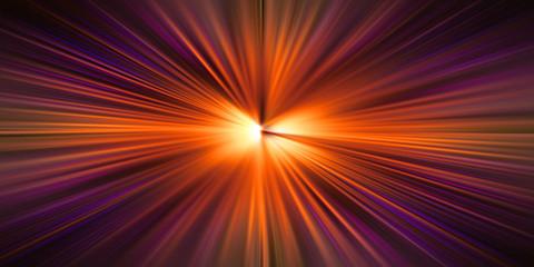 Esplosione di luce infinita