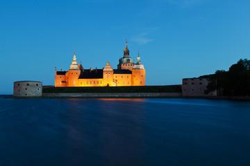 Schloss Kalmar im Wasser