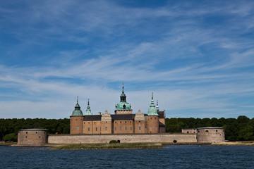 Schloss Kalmar am Morgen