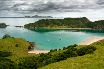 Fotobehang Nieuw Zeeland Bay of islands, New Zealand