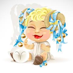 Baby zodiac - sign Aries
