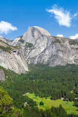 Wall Mural - Half Dome from Columbia Rock, Yosemite National Park