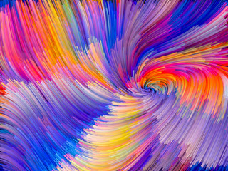 Color Vortex Background