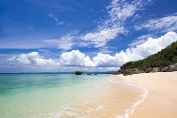 沖縄のビーチ・古宇利島