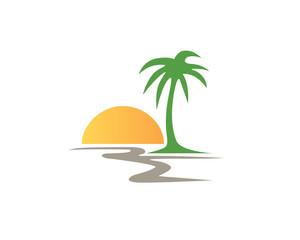 Scenery, Landscape Logo