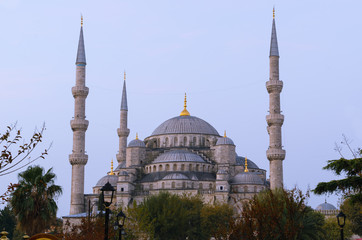 Blue Mosque point of view from sultanahmet, Istanbul, Turkey