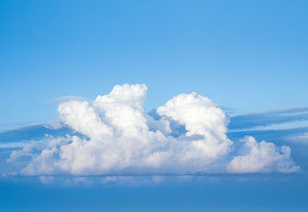 Foto En Lienzo - Cloud in the sky