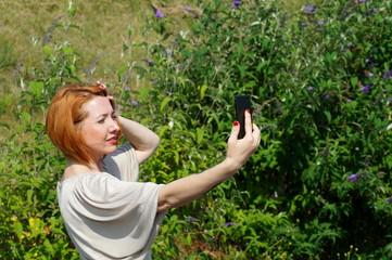 Frau Selfie