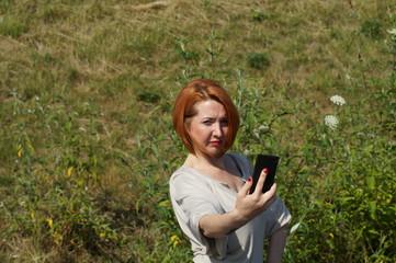 Selfie Frau