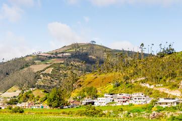 Beautiful nature of Ecuador