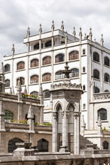 Historic center of Quito. Historic center of Quito is the first UNESCO WOrld Heritage site