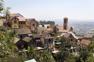 Panorama of Antananariv