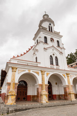 San Francisco Church in Cuenca, Ecuador