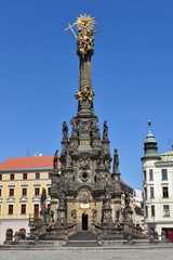 Plague Pillar in Olomouc, Czech Republic, UNESCO