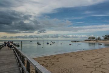 fresque sur le sable de Noirmoutier