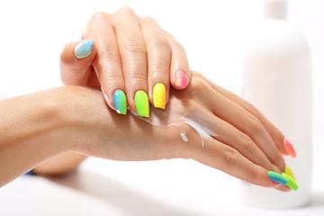 Obraz Manicure ombre - fototapety do salonu