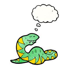 cartoon fat snake