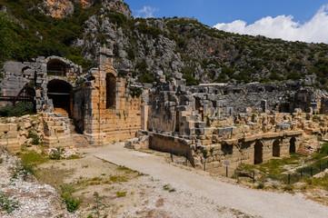Ancient theater, Myra, Turkey