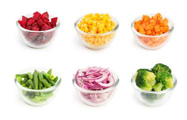 Vegetables set 5