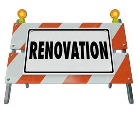 Renovate Road Construction Sign Home Improvement Building Projec