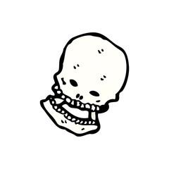 cartoon skull symbol