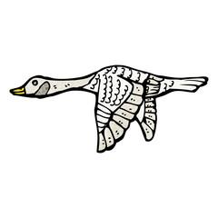 cartoon goose