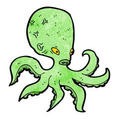 giant octopus cartoon