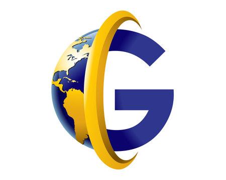 letter g global logo
