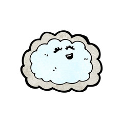 cloud with silver lining cartoon
