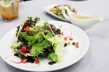 Vegetable and salad dressing