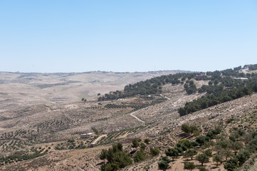 View from the Mount Nebo