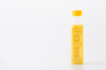fresh corn juice in bottle