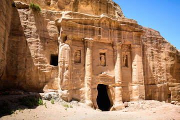 Petra, Jordan. Petra is one of the New Seven Wonders of the World. UNESCO World Heritage