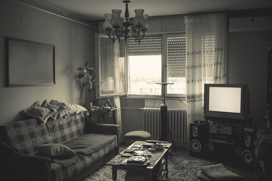 Messy Room Interior