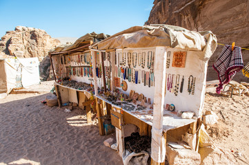 Sell point in Petra
