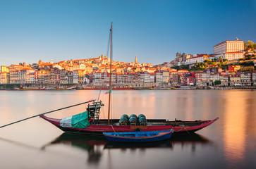 Ancient Boat in Oporto