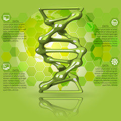 green  infographicsDNA