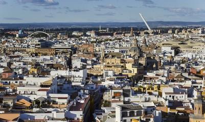 Sevilla, Spain aerial view