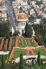 Israele,Haifa,giardini Bahai.