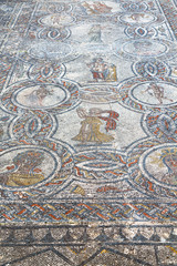 roof mosaic in the old city morocco  and history travel