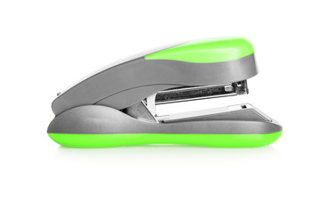 Stapler on a white background