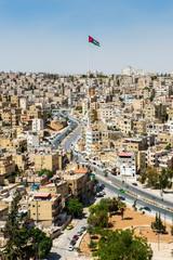 City of Amman, the capital of Jordan