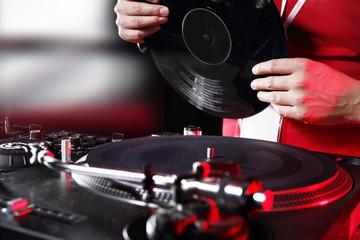 DJ.  Miksowanie muzyki
