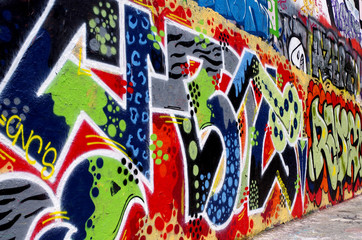 graffitis, tags