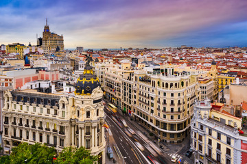 Photo Blinds Madrid Madrid Cityscape