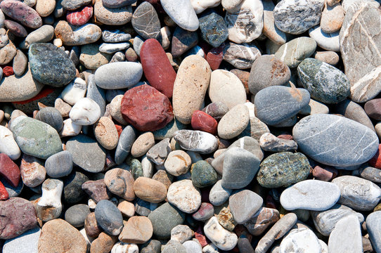 beach rock stone pebbles